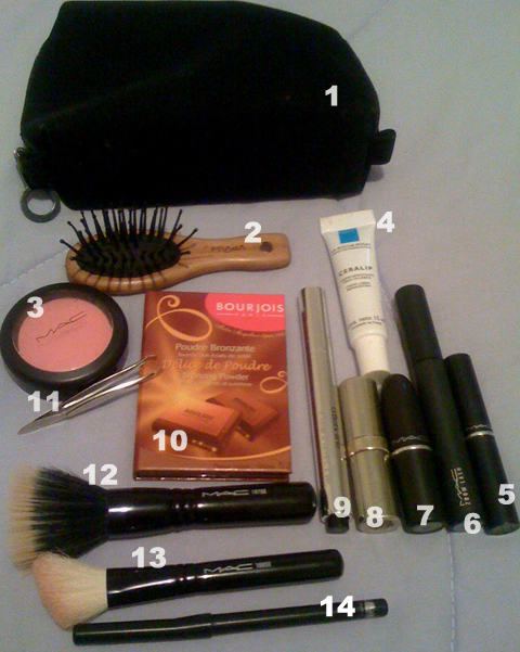 GLAM4YOU- NECESSAIRE - NATI VOZZA- NATALIA VOZZA-  MAC MAKE