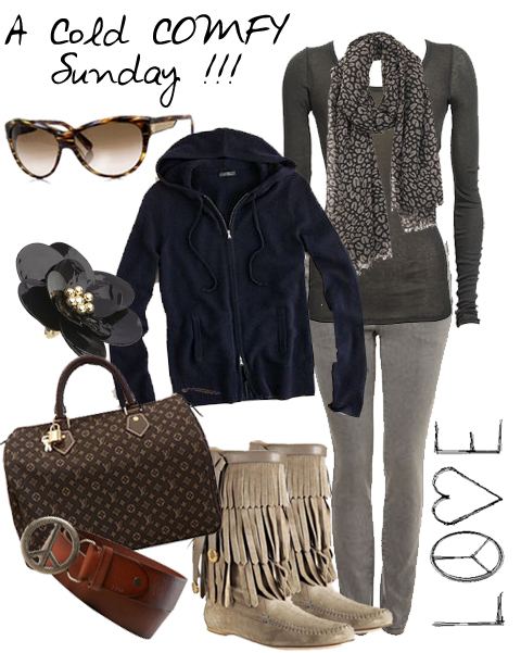 MY FASHION MOOD- GLAM4YOU - BLOG- COLD SUNDAY- FRIO- ROUPAS