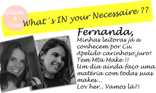 Necessaire- Fernanda - Logo - WIYN - MAKE UP