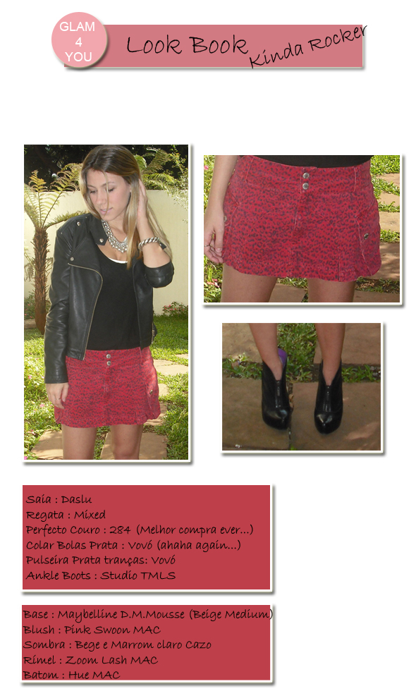LOOKBOOK ROCKER glam4you blog saia
