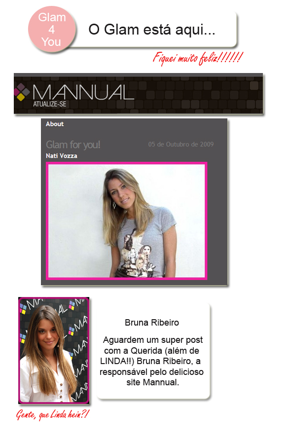 O GLAM ESTA AQUI SITE MANNUAL GLAM4YOU