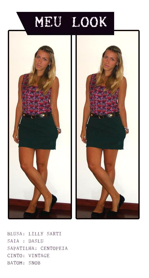 LOOK BOOK - BLUSA LILLY