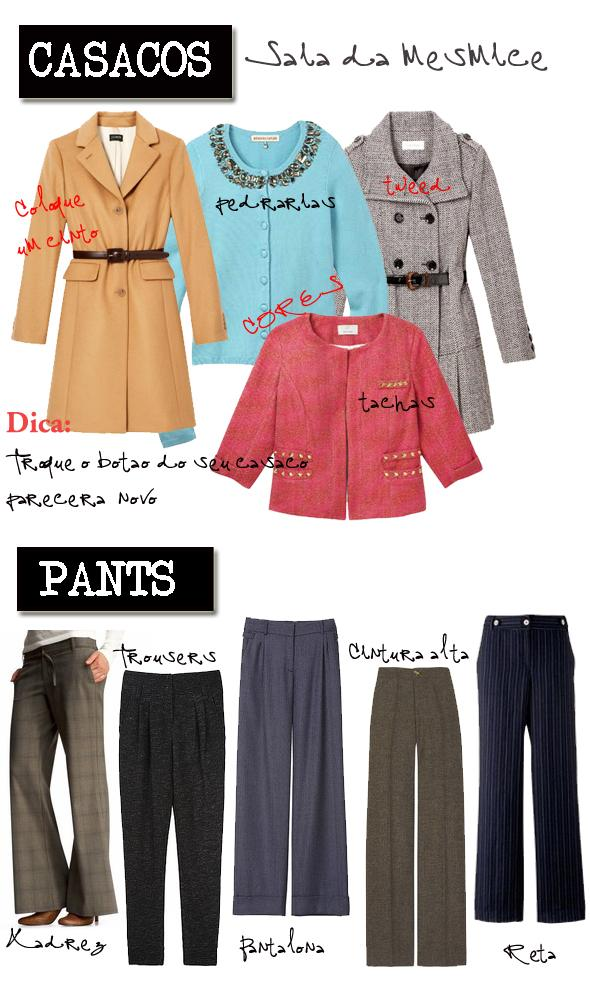 work clothes - casacos e calças glam4you
