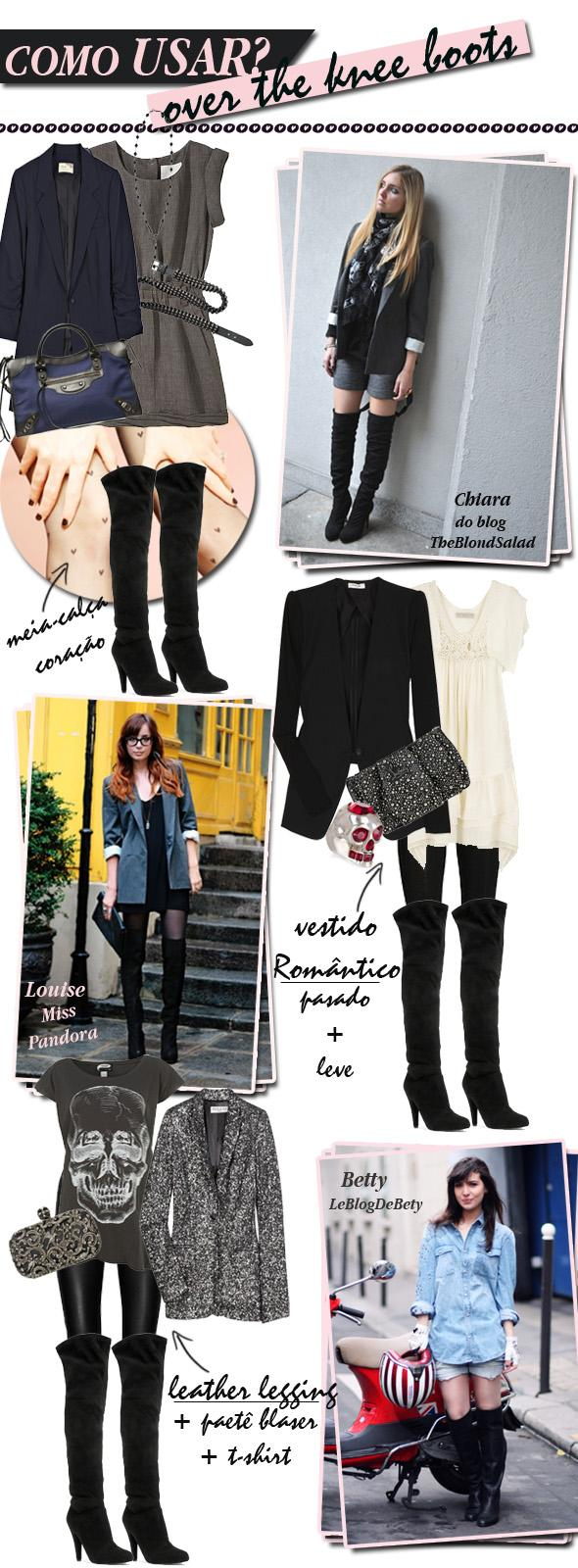 COMO USAR_OVER THE KNEE BOOTS_glam4you
